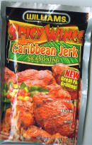 Williams Spicy Wings Caribbean Jerk Seasoning Mix