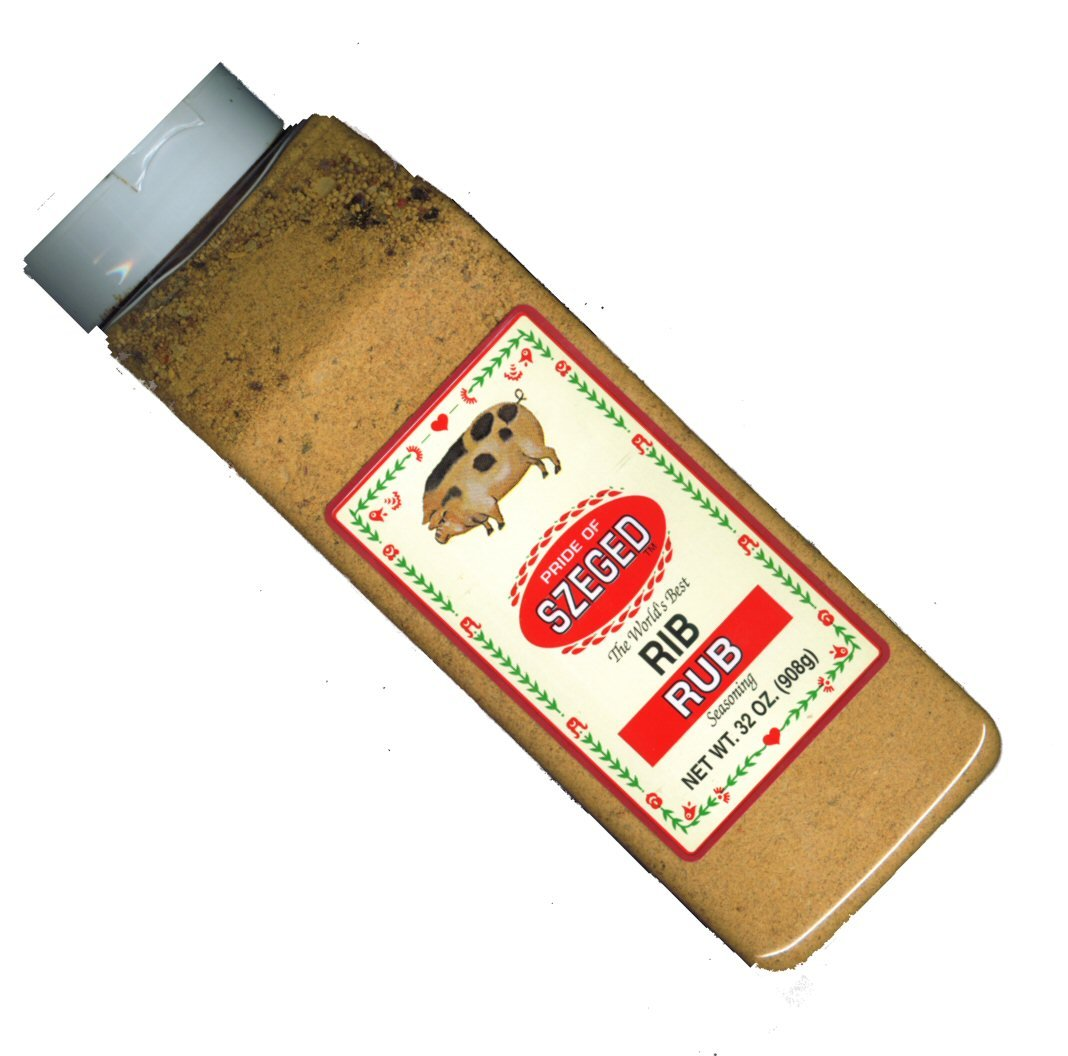 32 oz Pride of SZEGED  RIB Rub Seasoning
