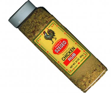 20 oz Szeged Rub for CHICKEN/Poultry