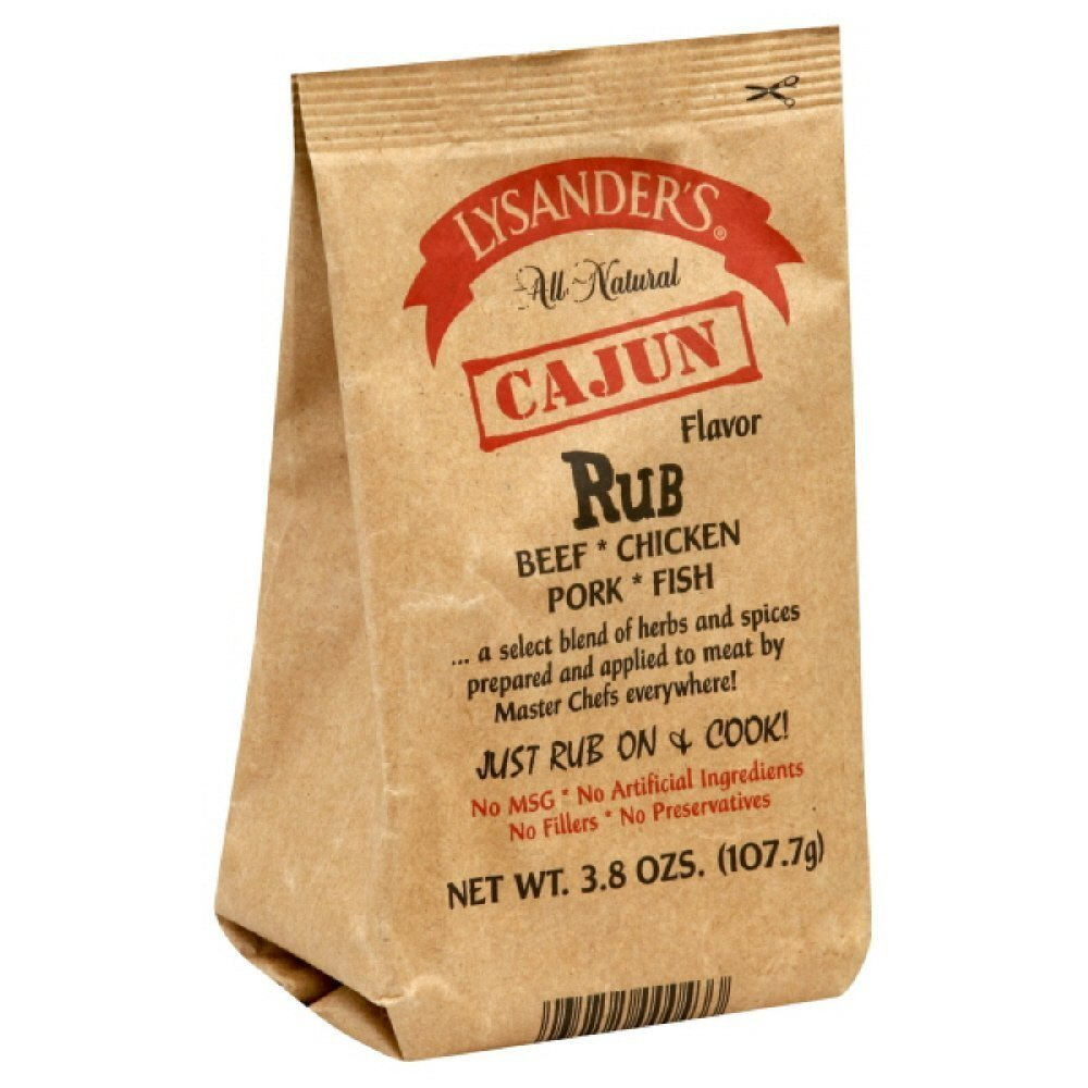 Lysander's Cajun Rub