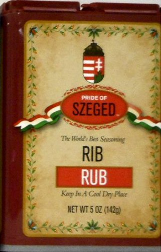 SZEGED Hungarian - Rib Rub