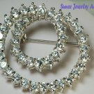 ELEGANT BROOCH IN .925 SILVER
