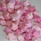 Shades of Pink Lucky Origami Stars