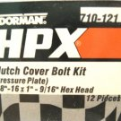 Clutch Cover Pressure Plate Bolt Set Dorman HPX for Borg-Beck Diphragm Apps NEW