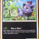 Pokemon Zorua and Celebi Jumbo Size Foil Promo Card NM