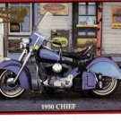 INDIAN MOTORBIKE SERIES 2 PROMO CARD NM FREE SHIPPING