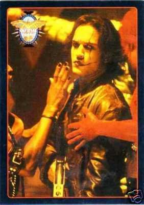 CROW CITY OF ANGELS WIZARD MAGAZINE PROMO CARD NM FREE SHIPPING