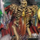 "1995 Fleer Ultra Skeleton Warriors Promo ""Baron Dark""NM free shipping"
