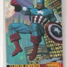 DC vs Marvel Captain America Promo Card NM FREE SHIPPING