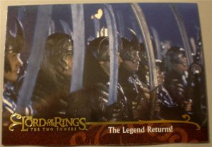 2002 Lord of the Rings The Two Towers Promo Card P3 NM FREE SHIPPING