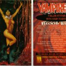 VAMPIRELLA BLOODLUST PROMO CARD 1997 Comic Images #1 NM FREE SHIPPING