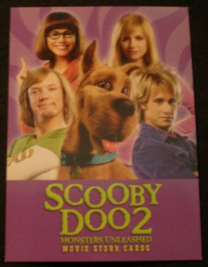 2004 Inkworks Scooby Doo 2 (Movie) Promo Card P1 NM free shipping