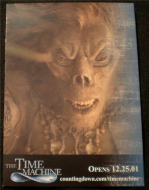 The Time Machine Movie Promo Card 2/5 2001 NM FREE SHIPPING