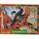 SUPERMAN 1993 DC BLOODLINES PROMO CARD # P4 NM FREE SHIPPING
