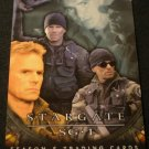 2002 Stargate SG-1 Season 5 Promo Card P2 near mint FREE SHIPPING