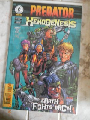 PREDATOR XENOGENESIS NM SIGNED BY IAN EDGINTON DF W/COA