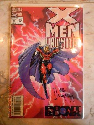 X-MEN UNLIMITED #2 DF SIGNED BY JAN DUURSEMA W/COA