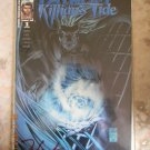 FATHOM: KILLIAN'S TIDE #1 DYNAMIC FORCES INC. EXCLUSIVE ALTERNATE BLUE FOIL COVER - SIGNED