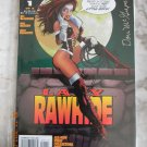 LADY RAWHIDE #1 SIGNED WITH DF COA NM