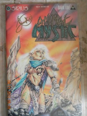 ANIMAL MYSTIC #4 SIGNED BY DARKONE NM