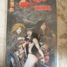 Witchblade Magdalena Vampirella Convergence #1 DF RED FOIL COVER SIGNED Variant