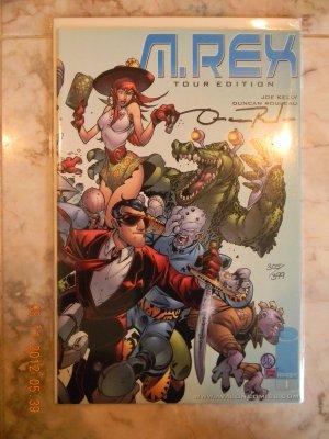 M. Rex Tour Edition #1 Comic - Image 1999 SIGNED by DUNCAN ROULEAU