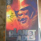 PLANET OF THE APES: THE HUMAN WAR #1 RAINBOW FOIL CVR. SIGNED! WITH DF C.O.A