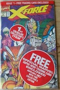 X-Force #1 sealed Deadpool cameo with Deadpool card