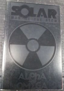 Solar Man of the Atom Alpha and Omega TPB Valiant 1st printing