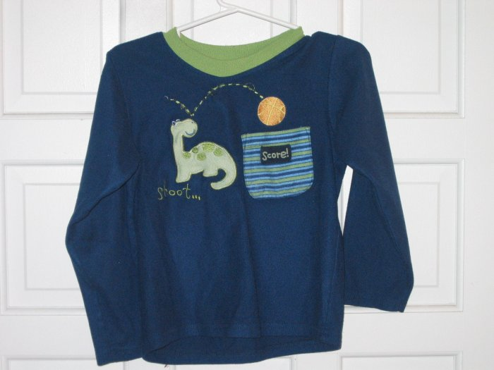 Boys Winter PJ Top