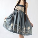 Embroidered Prom Lace Dress