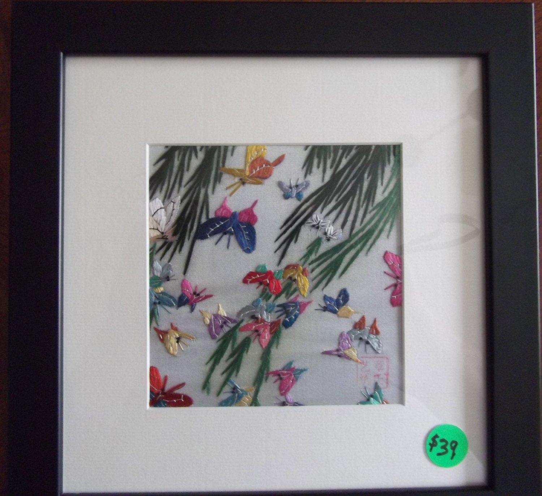 Multiple Small Butterflies