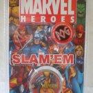 POG MARVEL HEROES SLAM'EM (METAL SLAMMER) - WOLVERINE