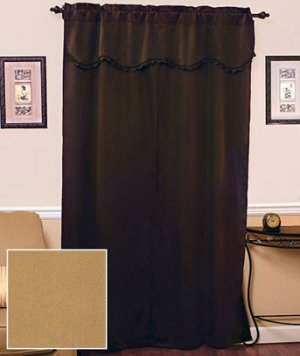 5-Pc. Blackout Curtain Set (Gold)
