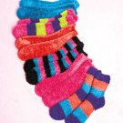6-Pair Super Soft Slipper Socks  Great Gift Idea