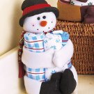 New 4-Pc. Christmas Snowman Holiday Gift Towel Set