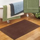 New Oversized Quick-Dry Bath Mat Basil Green Color