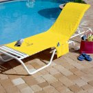Bright Lemon Colored Chair Cover