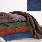 "New Indigo Blue Jumbo 35"" x 70"" Bath Sheet Towel"