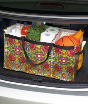 Trunkster Divided Bag Rhapsody Design Great for Organizing Or Storage