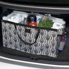 Trunkster Divided Bag Black & White Damask Design Great for Organizing Or Storage