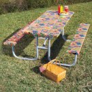 3-Pc. BBQ Design Picnic Table Cover