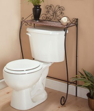 Butterfly Over-the-Toilet Storage Bathroom Collection