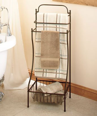 Bronze Color Floor Standing Towel Rack For Bathroom Sold Out