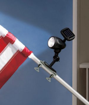 Solar LED Flag Pole Light