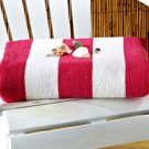 Hot Pink 50&quot; x 70&quot; Cabana Towel for Two