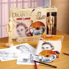 New Learn How To Draw Complete Basic Skills Drawing Book & DVD Set