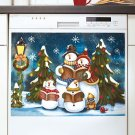 Glow-in-the-Dark Snowman Dishwasher Magnets