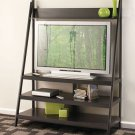 Wooden Black Ladder TV Stand