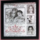 Big / Little Sister Sibling Collage Frame